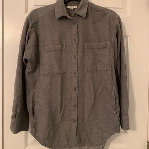 Madewell flannel shirt with pockets